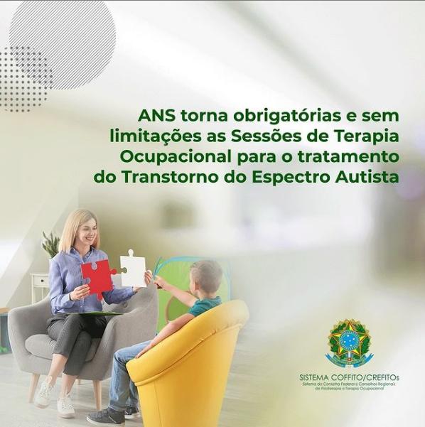 ANS torna obrigatórias e sem limitações as Sessões de Terapia Ocupacional para o tratamento do Transtorno do Espectro Autista