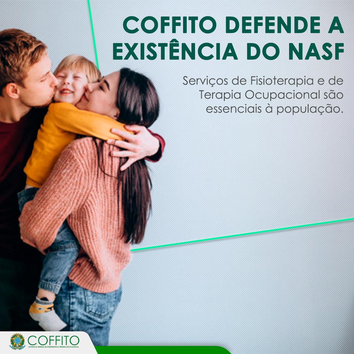 Crefito5 ratifica posição do COFFITO - NASF é essencial à saúde da população